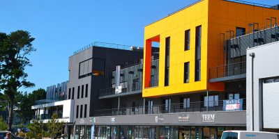 Lorient (56) - Bâtiment de bureaux et de commerces